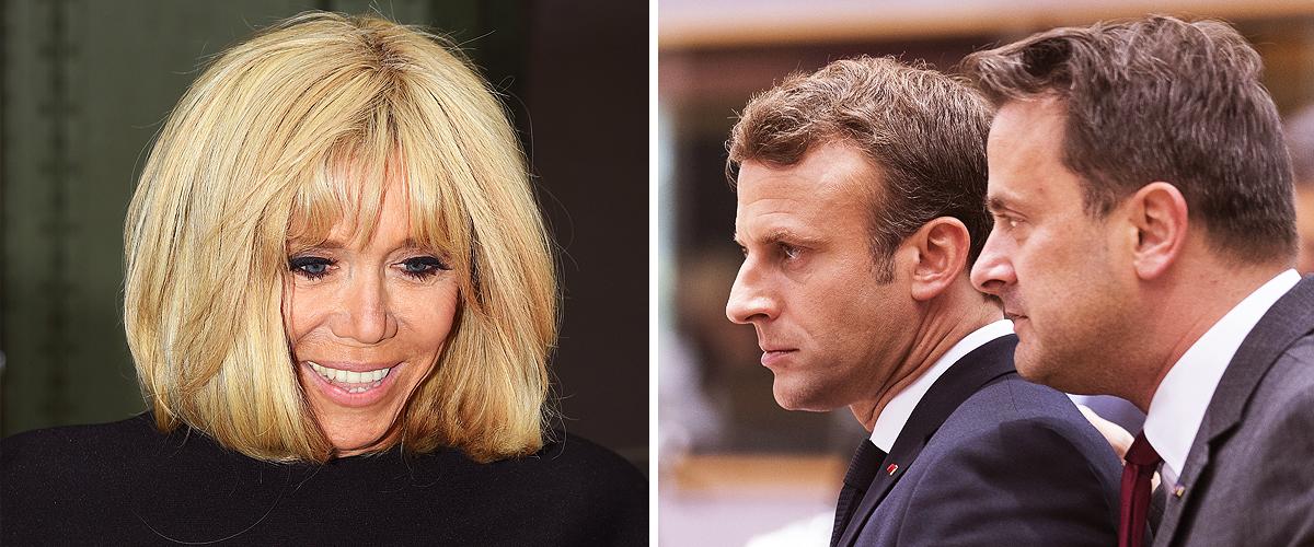 Brigitte Macron, absente au dîner de l'Élysée, à cause de ses petits-enfants