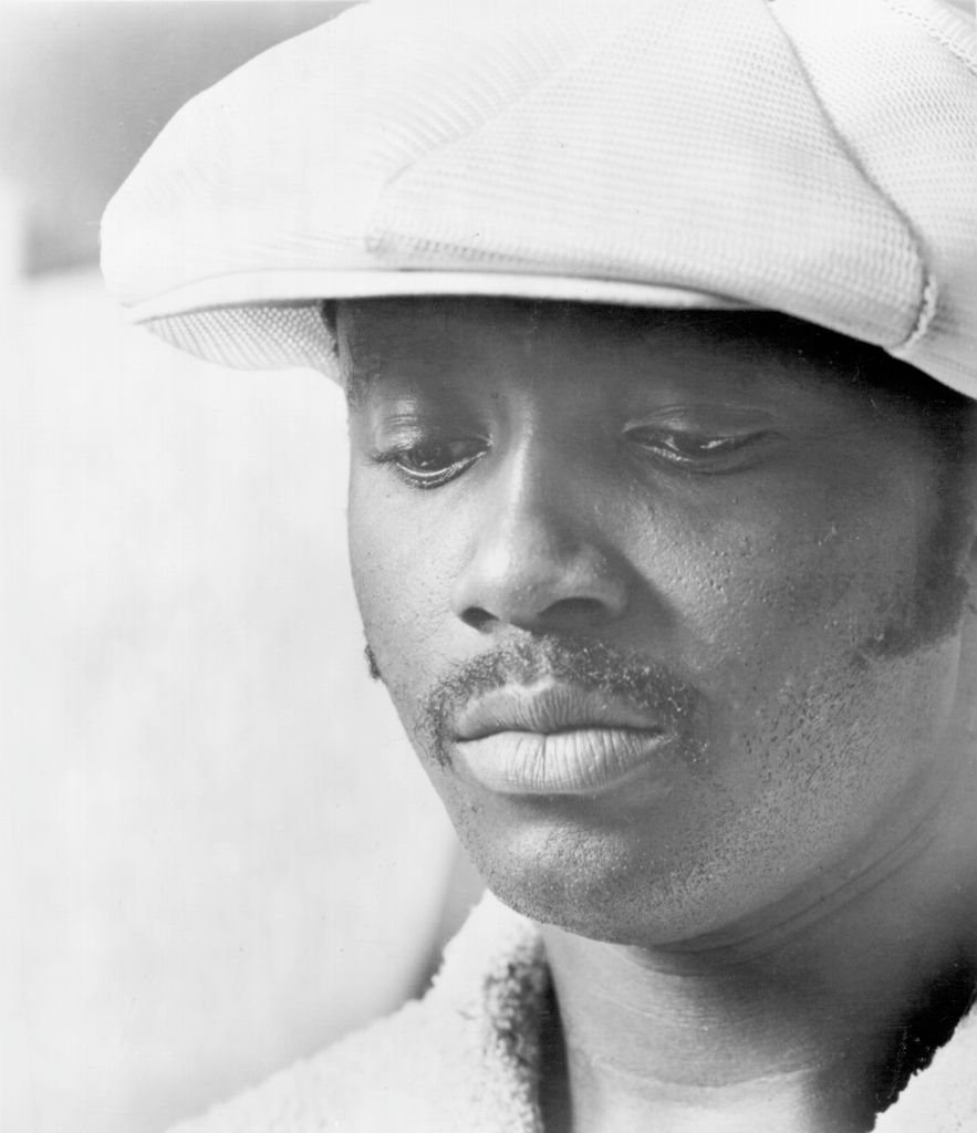 A monochrome portrait of Donny Hathaway on January 01, 1970 | Photo: Getty Images