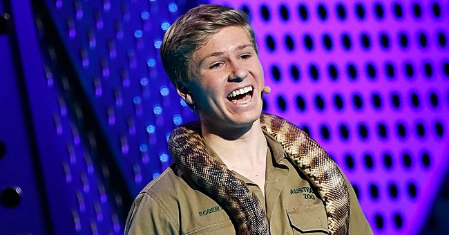 Robert Irwin Poses in Cute Photos Feeding Parrots — Does He Look like His Late Dad Steve?