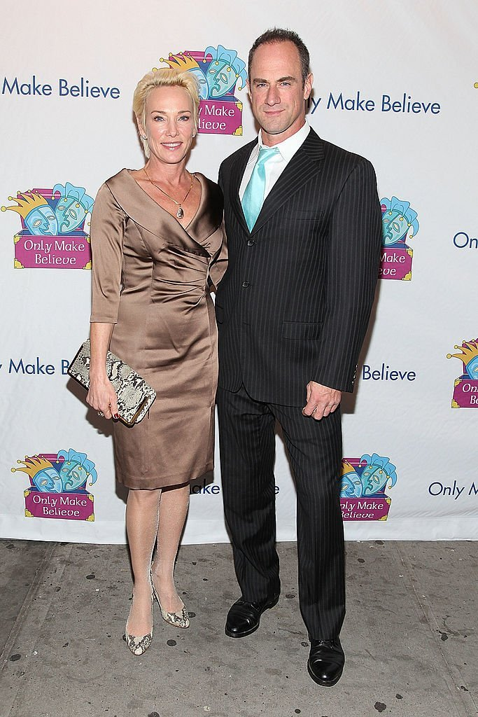 Sherman Meloni and Chris Meloni attend the 12th Annual Make Believe on Broadway gala  | Getty Images