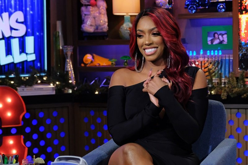 """Porsha Williams at the studio of """"Watch What Happens Live"""" on December 1, 2019 