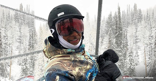 Montel Williams Shares Videos from First Snowboarding Session after Near-Fatal Stroke While at Gym