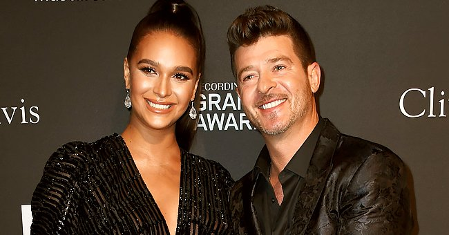 'The Masked Singer' Judge Robin Thicke & Fiancée April Love Geary Welcome His 3rd Child