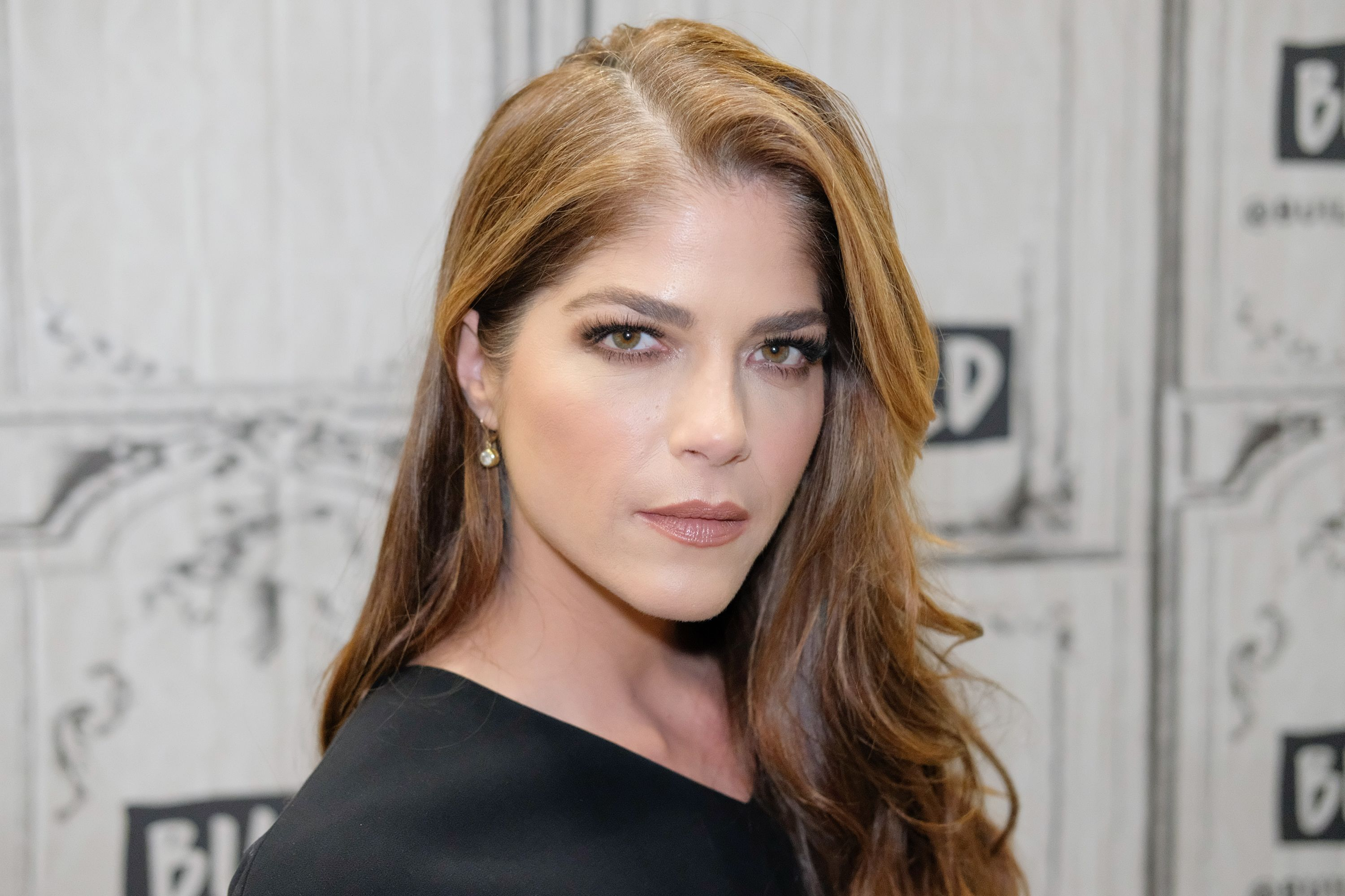 Selma Blair at a Build Series interview in January 2018 in New York | Source: Getty Images