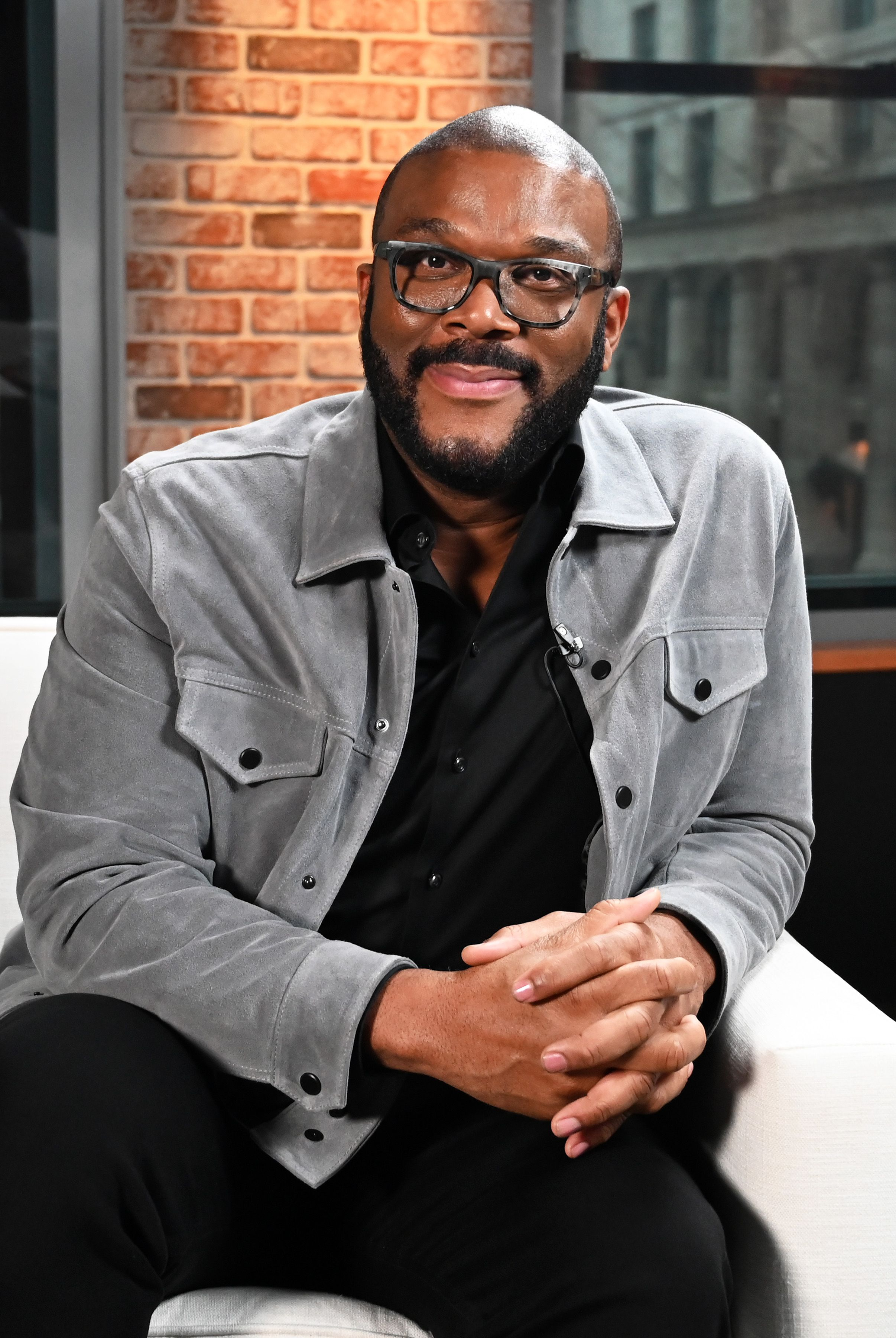 Tyler Perry visits LinkedIn Studios on January 13, 2020 in New York City. | Source: Getty Images