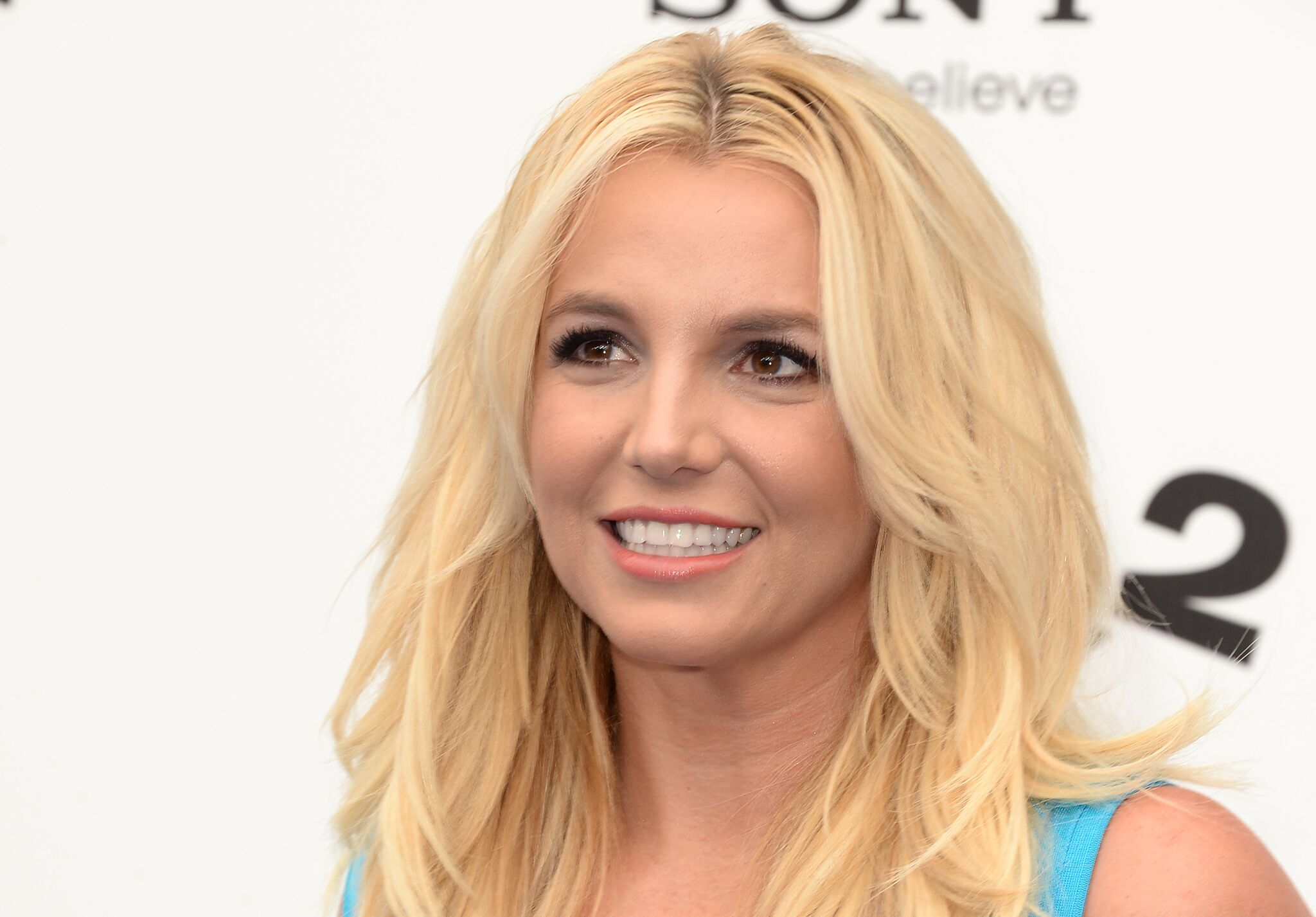 """Singer Britney Spears attends the premiere of Columbia Pictures' """"Smurfs 2"""" at Regency Village Theatre on July 28, 2013 