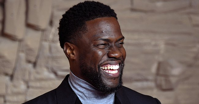 Kevin Hart's Baby Kaori Mai Carefully Examines His Beard as She Adorably Frowns in a New Photo