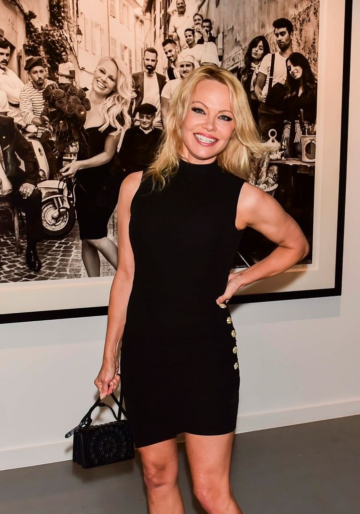Pamela Anderson attends Maddox Gallery Los Angeles Presents: Pamela Anderson by David Yarrow at Maddox Gallery on June 07, 2019 in Los Angeles, California.   Photo: Getty Images