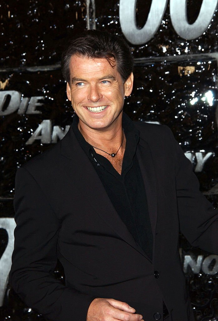 "Pierce Brosnan attends a special screening of ""Die Another Day"" on November 11, 2002. 