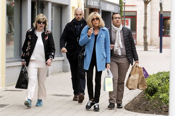 Brigitte Macron au Touquet en France. | Photo : Getty Images