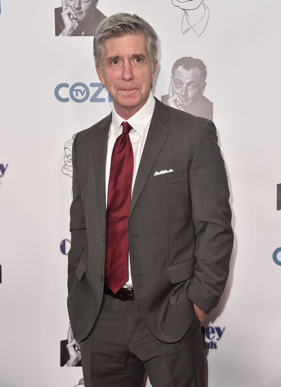 Tom Bergeron at the 3rd Annual Carney Awards at The Broad Stage on October 29, 2017, in Santa Monica, California | Photo: Getty Images