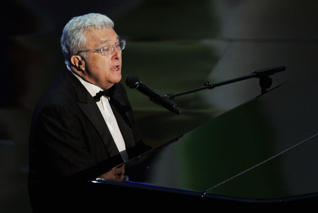 """Randy Newman performs """"We Belong Together"""" at the 83rd Annual Academy Awards in Hollywood, California on February 27, 2011 