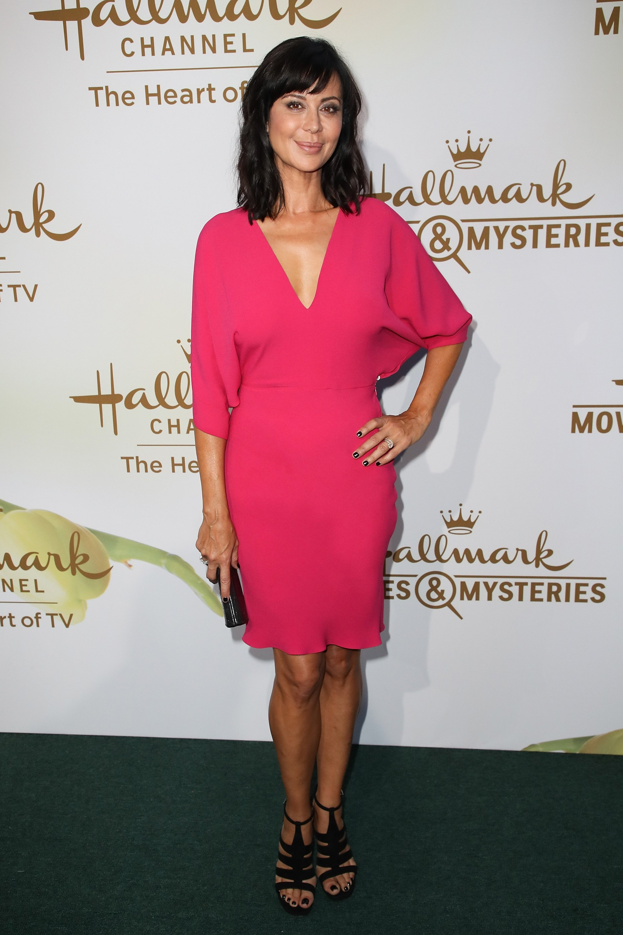 Catherine Bell in Beverly Hills, California on July 27, 2017 | Photo: Getty Images