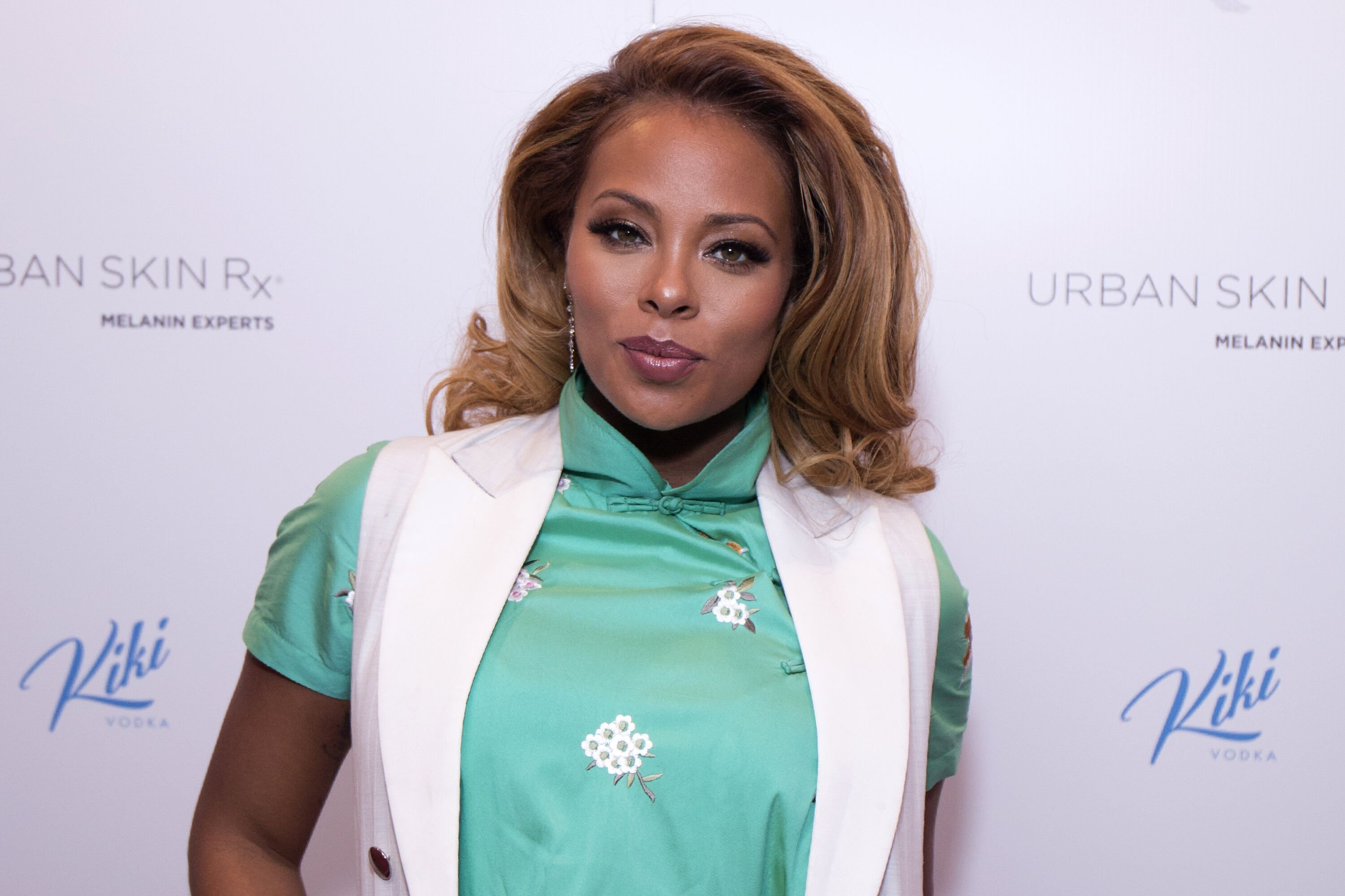 Eva Marcille attends the launch of Urban Skin RX on January 18, 2018 in New York City   Source: Getty Images
