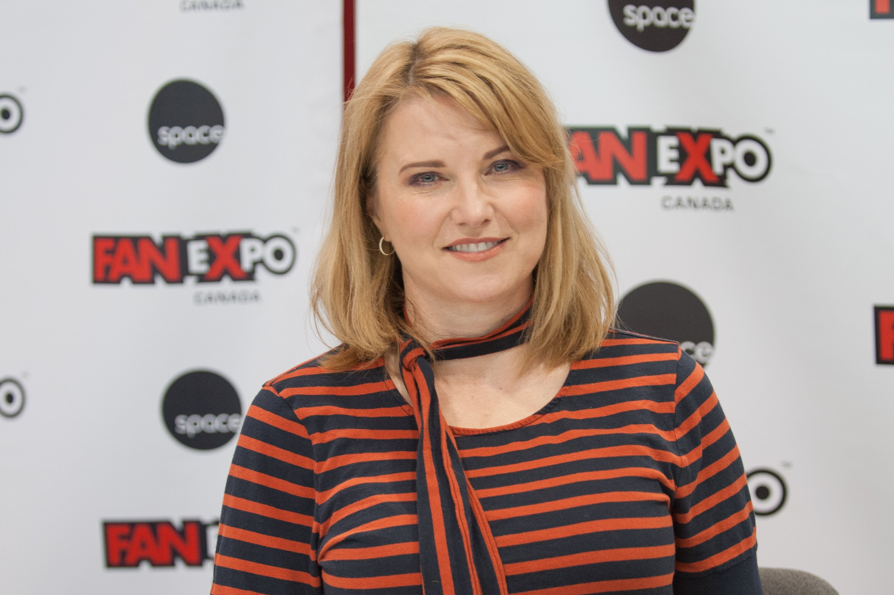 Lucy Lawless attends the 2018 Fan Expo Canada, on September 1, 2018 in Toronto, Canada. | Source: Getty Images.