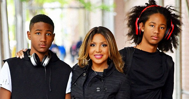 Toni Braxton's Two Sons Paid Touching Tribute to Dad Keri Lewis With Sweet Father's Day Photos