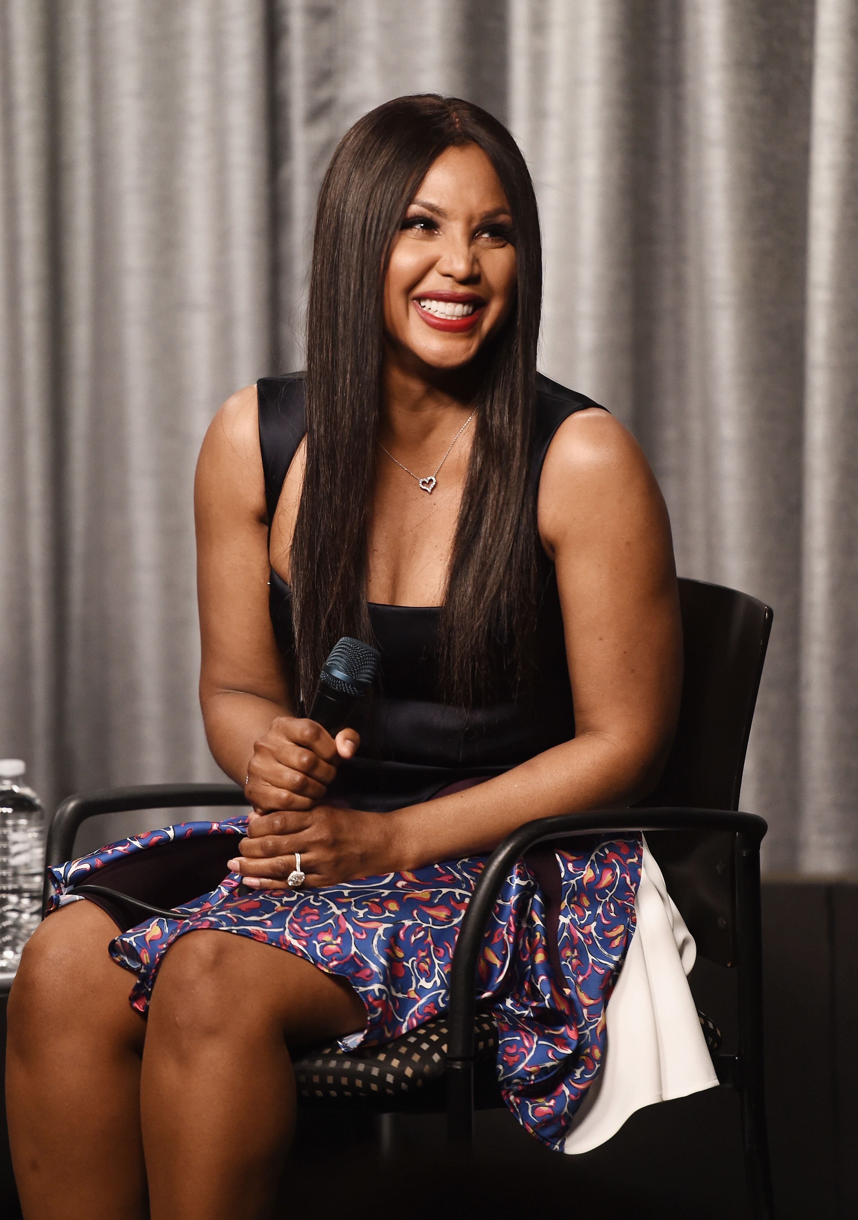 """Singer and actress Toni Braxton attends the SAG-AFTRA Foundation Conversations screening and Q&A of """"Faith Under Fire"""" at the SAG-AFTRA Foundation Screening Room on June 11, 2018   Photo: Getty Images"""