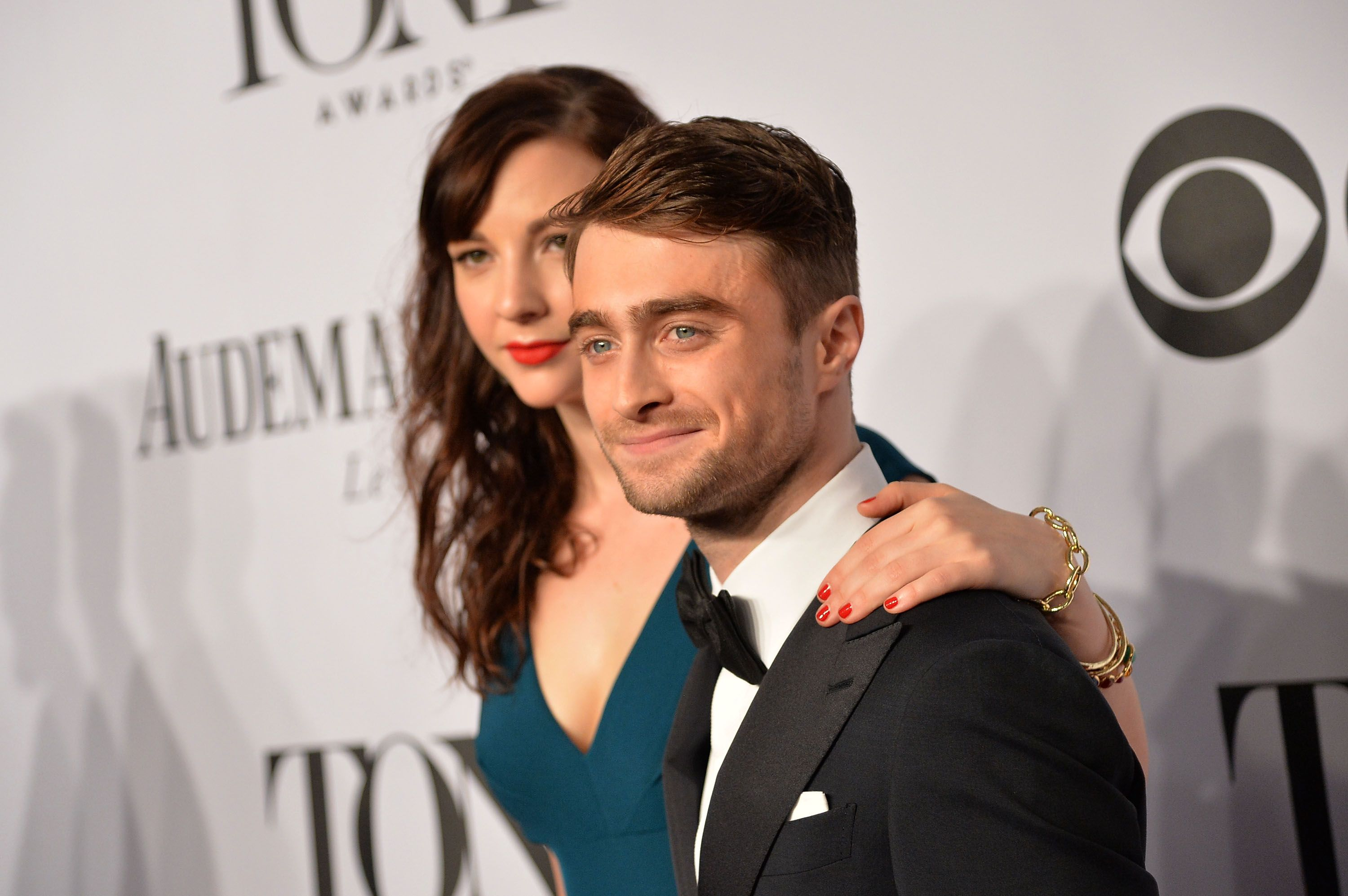 Daniel Radcliffe and Erin Darke at the 68th Annual Tony Awards in 2014 in New York City | Source: Getty Images