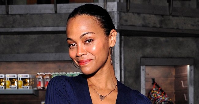'Avatar' Star Zoe Saldana Glows Showing Bare Face in a Selfie during a Fun Day with Her Boys