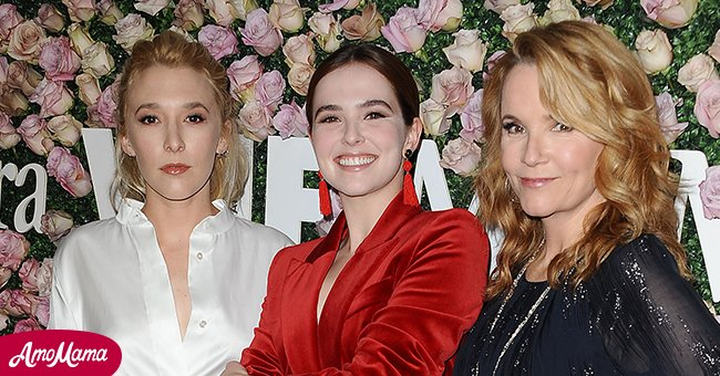 Madelyn Deutch, Zoey Deutch and Lea Thompson attend Max Mara and Vanity Fair's celebration of Women In Film's Face of the Future Award recipient, Zoey Deutch at Chateau Marmont on June 12, 2017 in Los Angeles, California.   Source: Getty Images