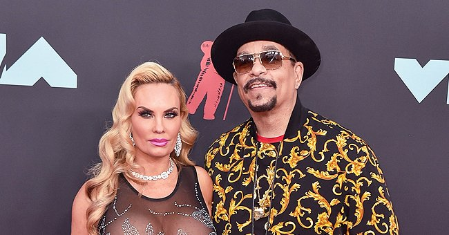See How Ice-T's Wife Coco Flaunted Curves in Tight Versace Pants in Photos with Friends