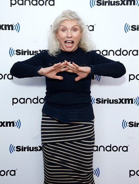 Debbie Harry at SiriusXM Studios on August 26, 2019 in New York City | Photo: Getty Images