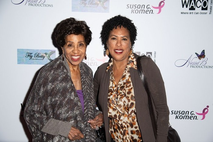 "Marla Gibbs and Angela Gibbs attend WACO Theater Center Presents ""Letters From Zora"" on May 11, 2018 in Los Angeles, California. I Image: Getty Images"