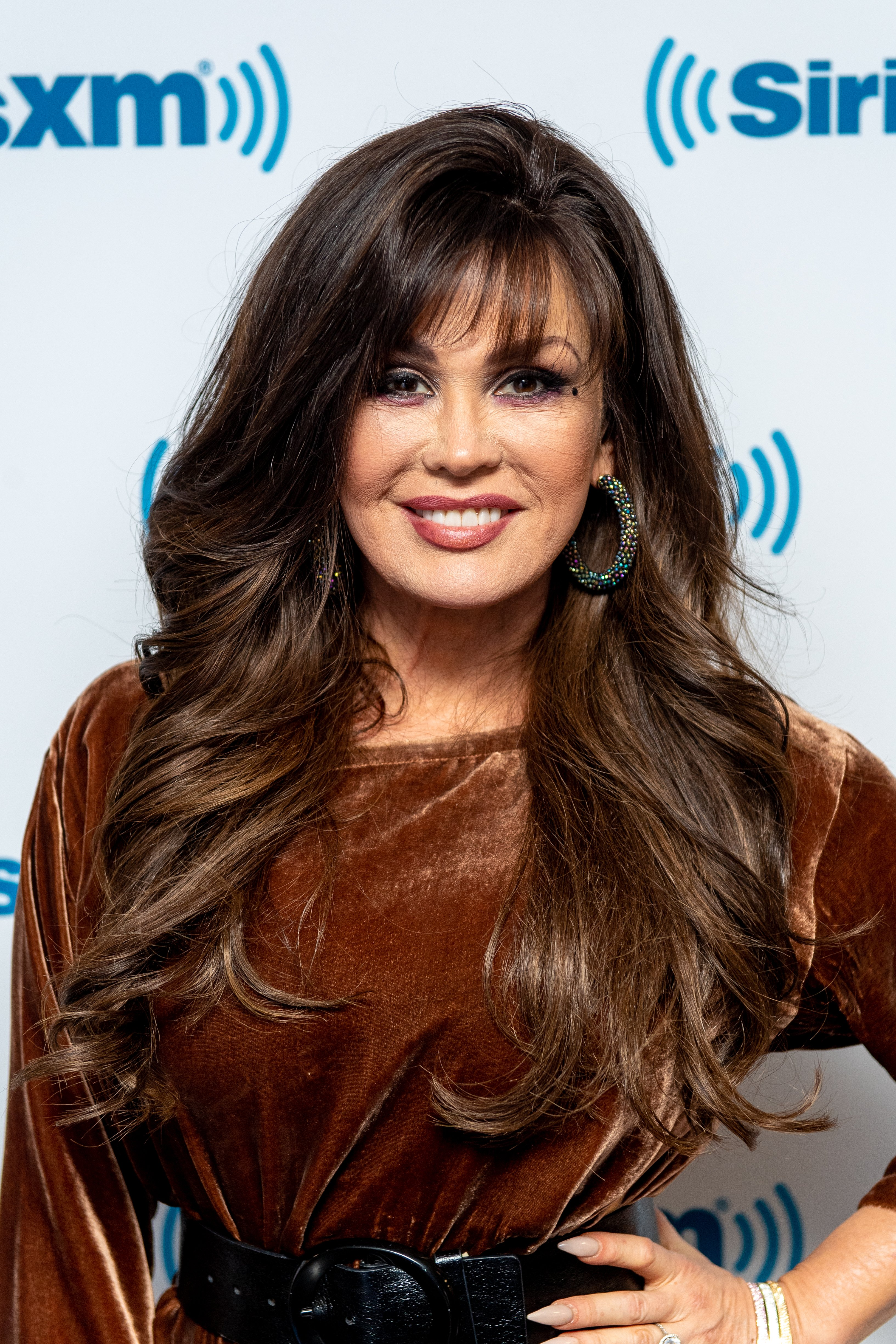 Marie Osmond visits SiriusXM Studios on January 08, 2019, in New York City. | Source: Getty Images.