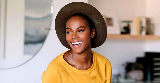 Tika Sumpter from THATHN Steals Hearts with Her Smile as She Poses in a Yellow Sweater & Hat