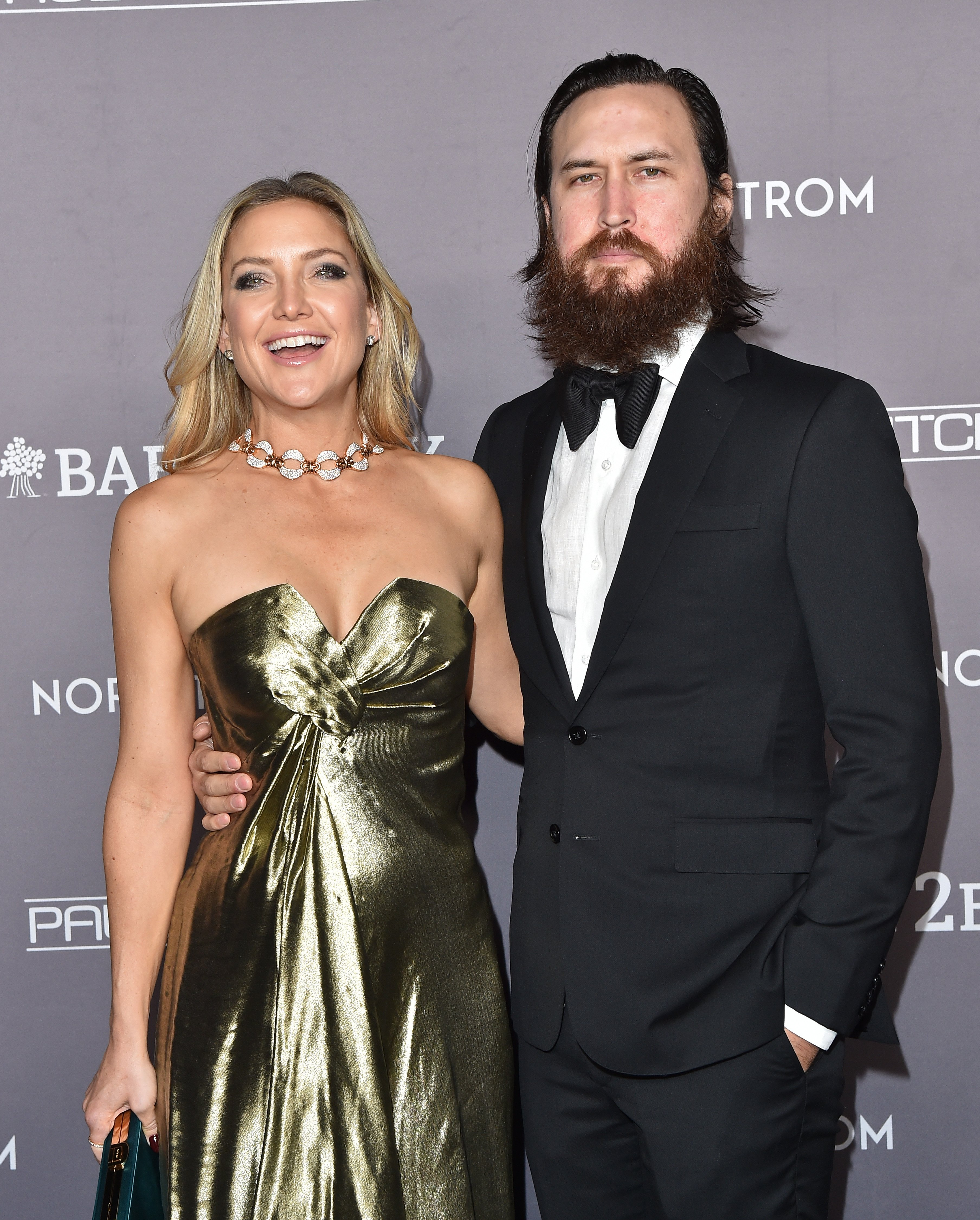 "Kate Hudson and Danny Fujikawa at the ""Baby2Baby"" Gala in Culver City, November, 2019. 