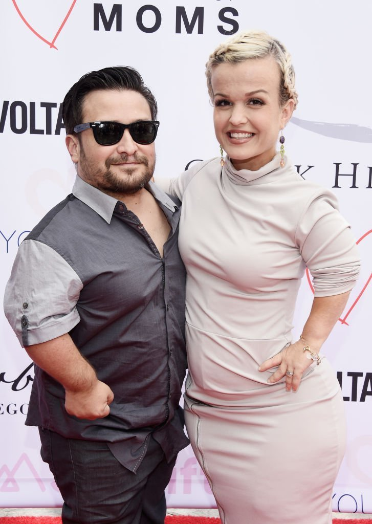 Television personalities Joe Gnoffo (L) and Terra Jole attend The Open Hearts Foundation's 2018 Young Hearts Spring Event honoring Alliance of Moms and Shelift   Photo: Getty Images