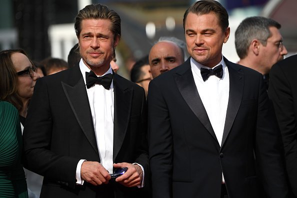 Brad Pitt and Leonardo DiCaprio at the 72nd annual Cannes Film Festival on May 21, 2019 in Cannes, France | Photo: Getty Images
