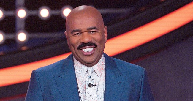 Steve Harvey's Grown Daughter Steals Hearts Makeup-Free in a Pic Showing Hair Buns & Green Eyes