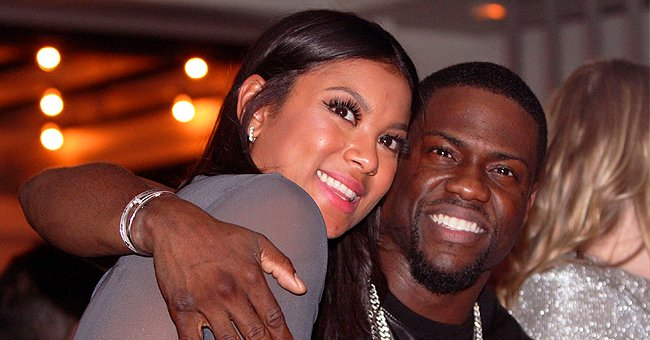 Kevin Hart's Wife Eniko Shows off Post-baby Body While Working Out in Tight Black Pants & Top