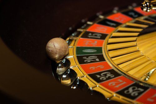 Close up of Roulette wheel.   Source: Shutterstock.