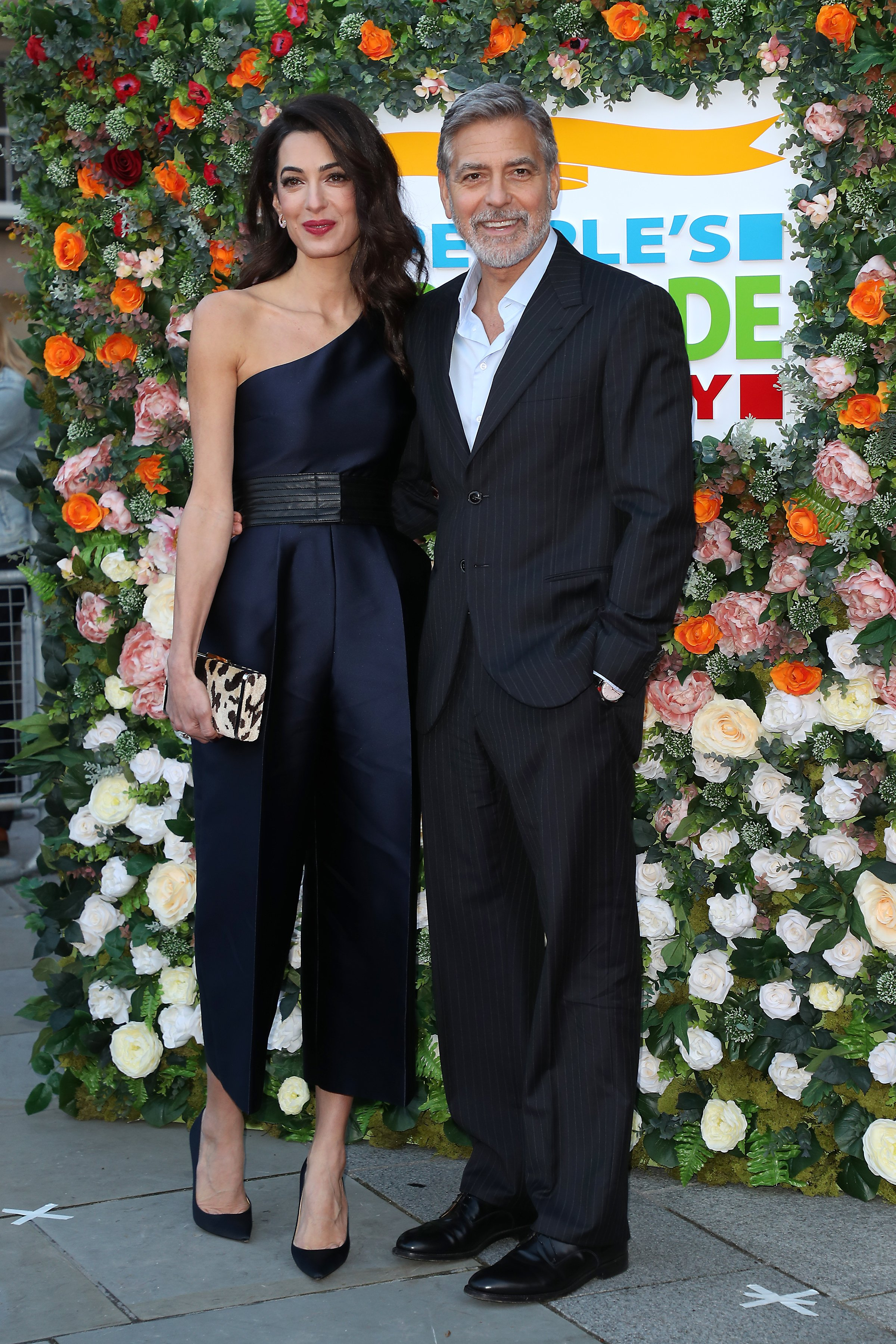 George Clooney and Amal Clooney attend the People's Postcode Lottery Charity Gala at McEwan Hall on March 14, 2019 in Edinburgh, Scotland. | Source: Getty Images