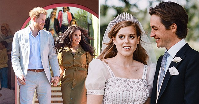 Hello!: Prince Harry Sends Well Wishes to Newlyweds Princess Beatrice and Edoardo Mapelli Mozzi