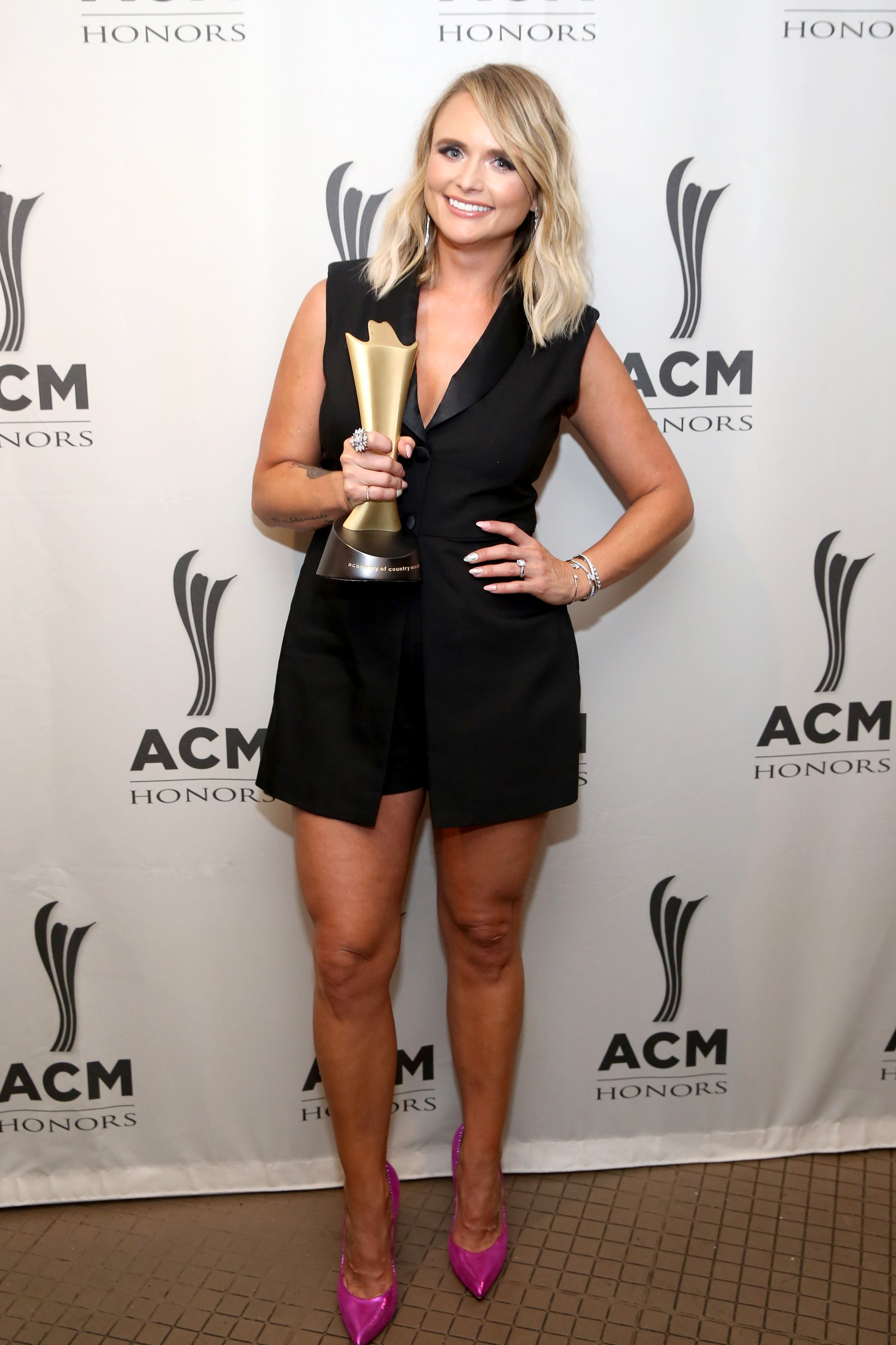Miranda Lambert appears backage at the ACM Honors in Nashville, Tennesee on August 21, 2019 | Photo: Getty Images