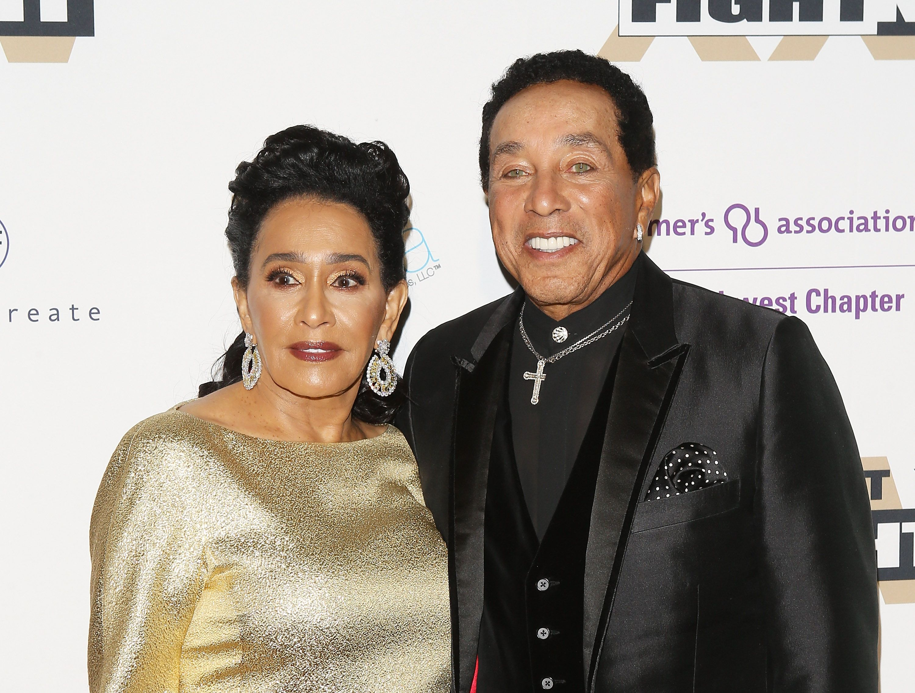 Smokey Robinson and Claudette Robinson during the Celebrity Fight Night XXIV held at JW Marriot Desert Ridge Resort & Spa on March 10, 2018 in Phoenix, Arizona. | Source: Getty Images