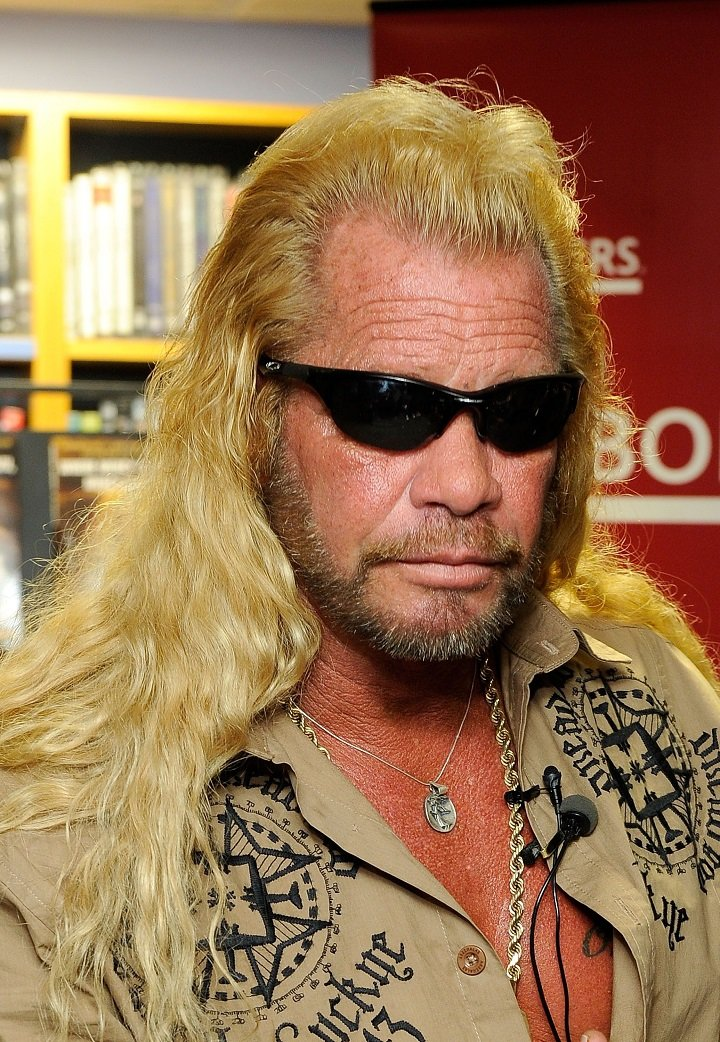 """Duane """"Dog"""" Chapman promoting his book """"When Mercy Is Shown, Mercy Is Given"""" in New York City in March 2010. 