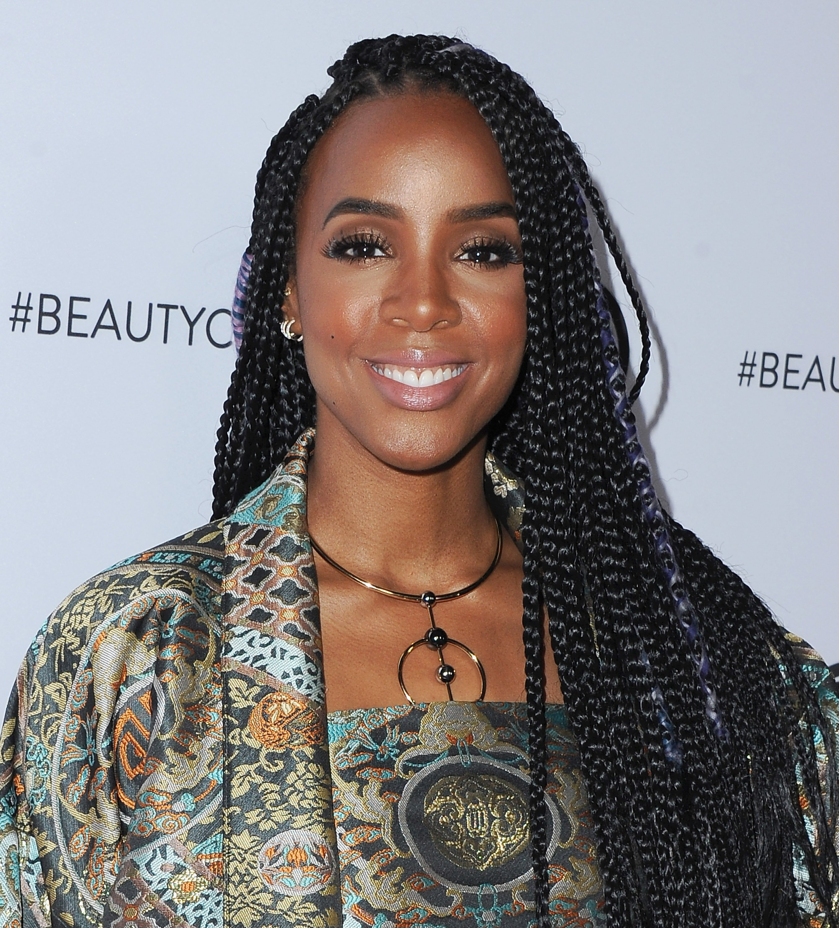 Kelly Rowland at the 5th Annual Beautycon Festival in Los Angeles, California, 2017. | Source: Getty Images