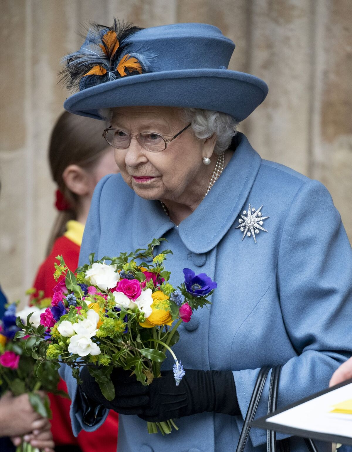 Queen Elizabeth II at the Commonwealth Day Service held at Westminster Abbey on March 9, 2020, in London, England | Photo: Getty Images