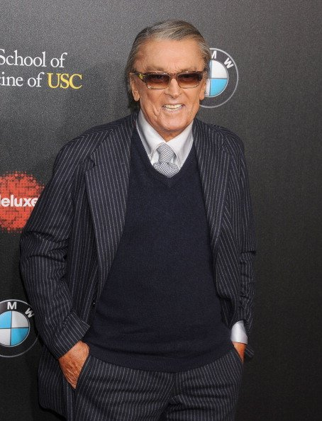 Robert Evans arrives at the 2nd Annual Rebel With A Cause Gala at Paramount Studios on March 20, 2014 in Hollywood, California | Photo: Getty Images