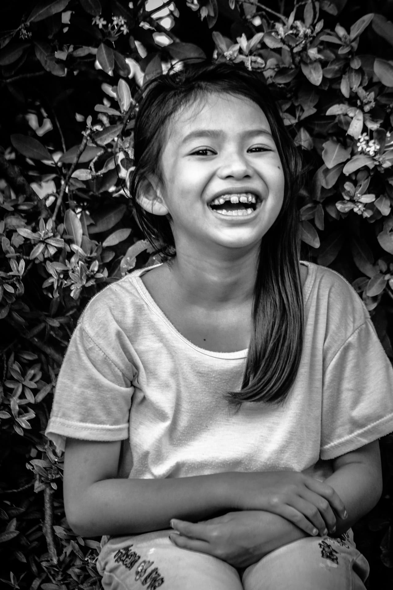 Little girl laughing | Source: Pixabay