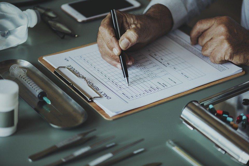 Formularios médicos. | Imagen: Pixabay