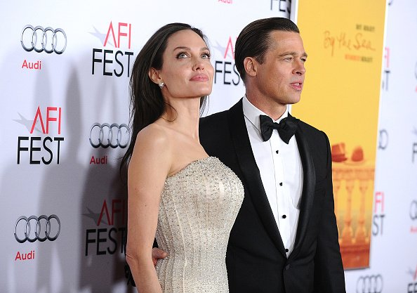 Brad Pitt y Angelina Jolie. Fuente: Getty Images/Global Images Ukraine
