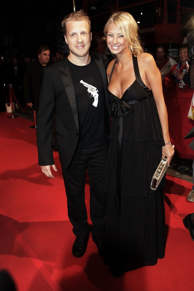 Alessandra Meyer-Wölden, Oliver Pocher, Hamburg, 2009 | Quelle: Getty Images