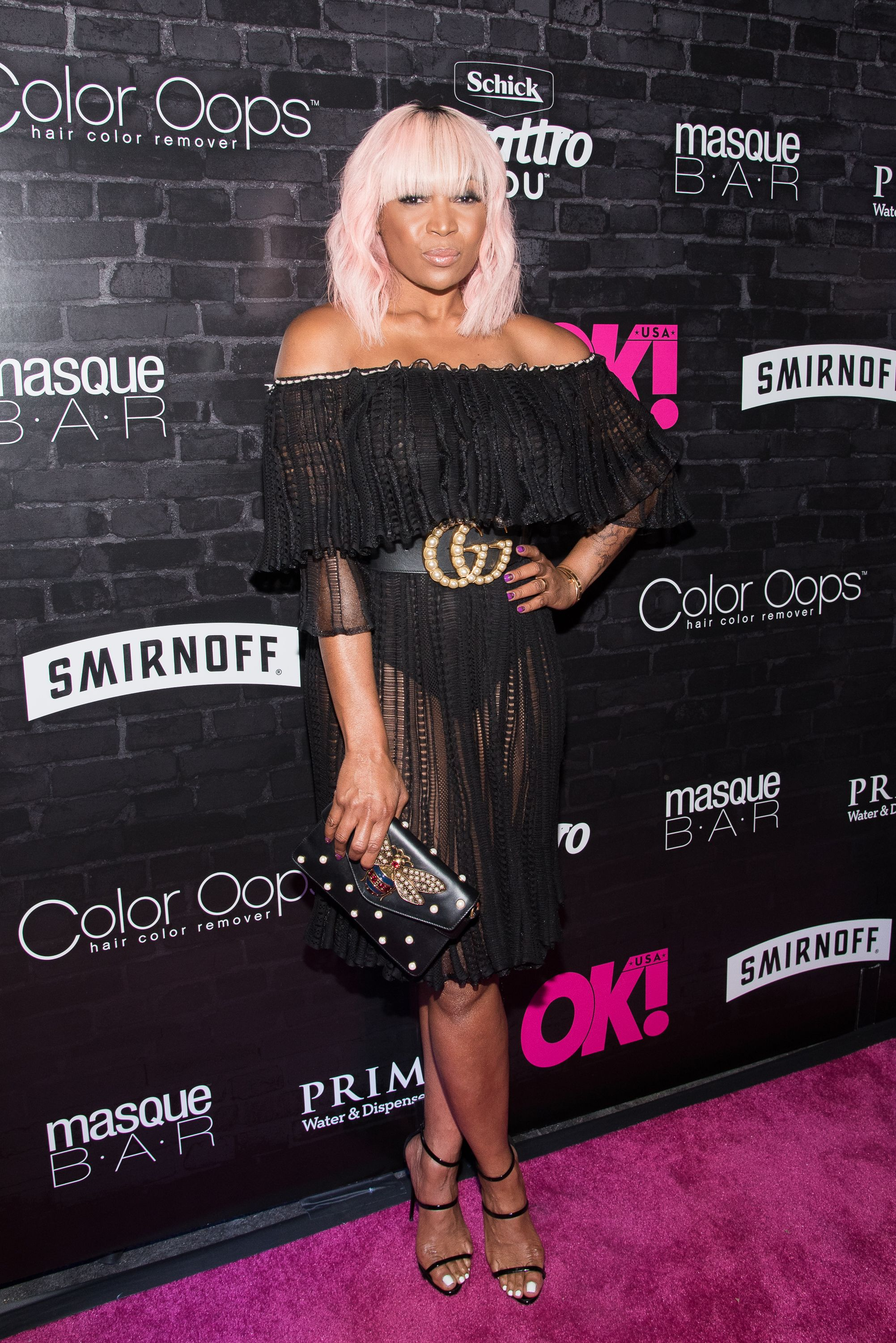 Marlo Hampton at OK! Magazine's Fall Fashion Week 2017 Event at Hudson Hotel on September 13, 2017 in New York City. | Photo: Getty Images