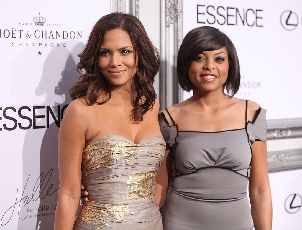 Halle Berry and Taraji P. Henson at the 2nd Annual Essence Magazine Awards luncheon in February 2009.   Photo: Getty Images