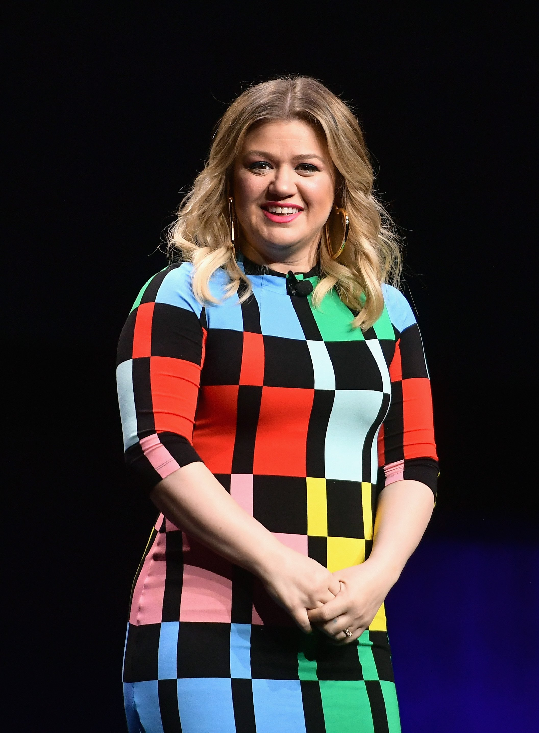 Kelly Clarkson speaks at CinemaCon 2019 in Las Vegas, Nevada on April 2, 2019 | Photo: Getty Images